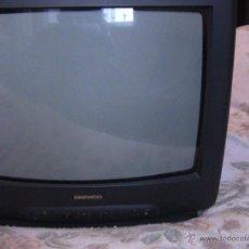 Segunda Mano: TELEVISOR A COLOR DE 14 PULGADAS MARCA DAEWOO. Lote 45256642