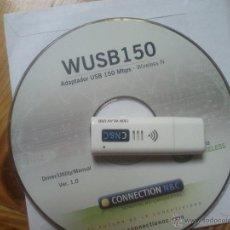 Segunda Mano: CONECTOR WIFI EXTERNO USB. Lote 45542341