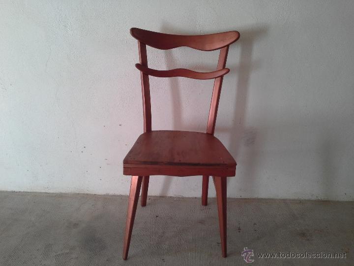 Silla vintage segunda mano sillas butaca asientos for Sillas vintage segunda mano