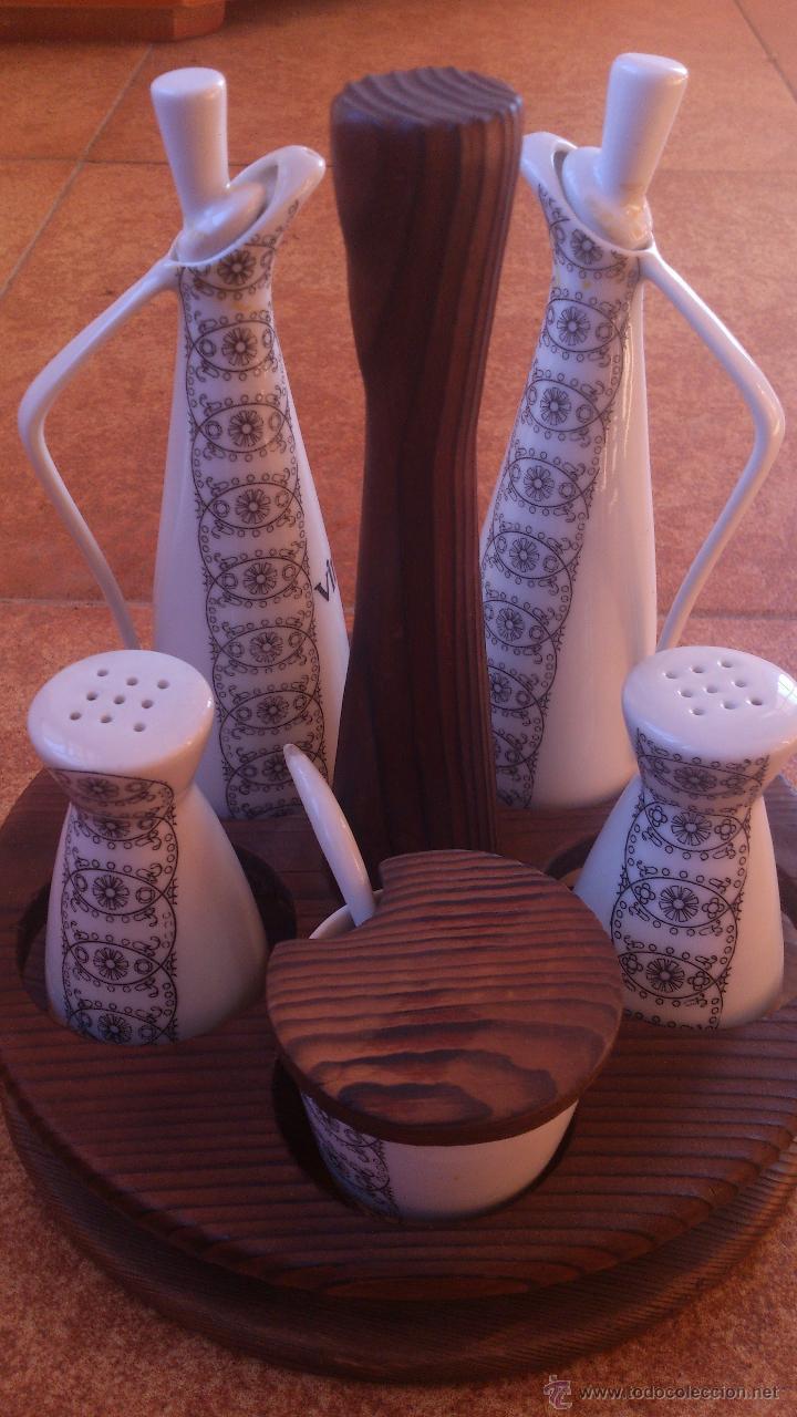 SETRILLERAS-ACEITERAS Y SALPIMENTEROS (Segunda Mano - Hogar y decoración)