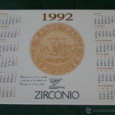 Segunda Mano: AZULEJO CALENDARIO. AÑO;1992.REPRODUCCION DE UN MUSEO. Lote 46727309