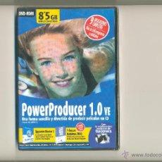 Segunda Mano: DVD ROM INCLUYENDO EL SOFTWARE POWERPRODUCER 1.0 VE DE CYBERLINK Y 8 APLICACIONES MAS COMPLETAS. Lote 46778765