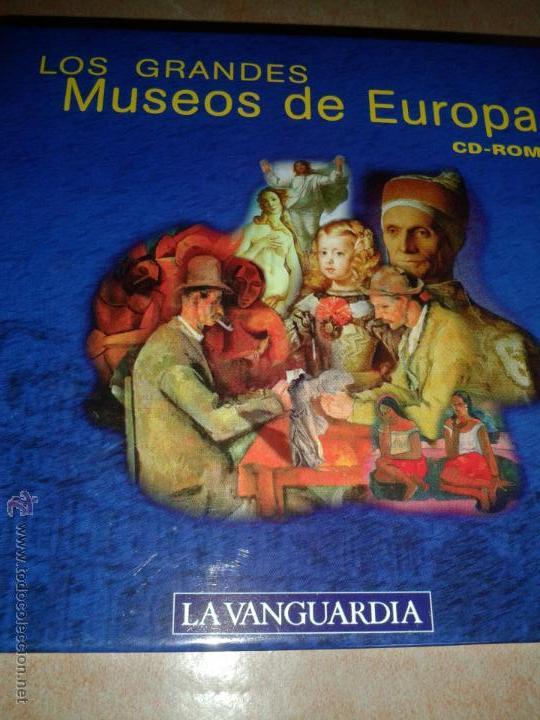 MUSEOS DEL MUNDO EN CD-ROM BOX ENCICLOPEDIA (Segunda Mano - Otros)