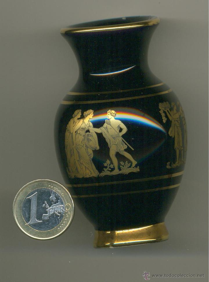 Segunda Mano: MINI VASIJA DE GRECIA, HECHA A MANO. ORO 24 K. 8,5x5,5 cm. Envío: 2,50 € *. - Foto 4 - 47021870