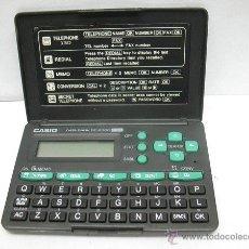 Segunda Mano: CASIO - AGENDA ELECTRÓNICA DATA BANK DC-2000 130. Lote 47791469
