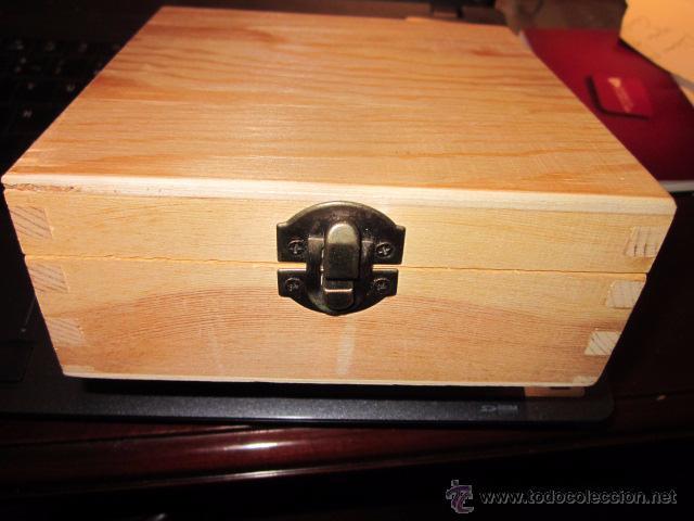 Caja De Madera Con Cierre Metalico Comprar Art Culos De