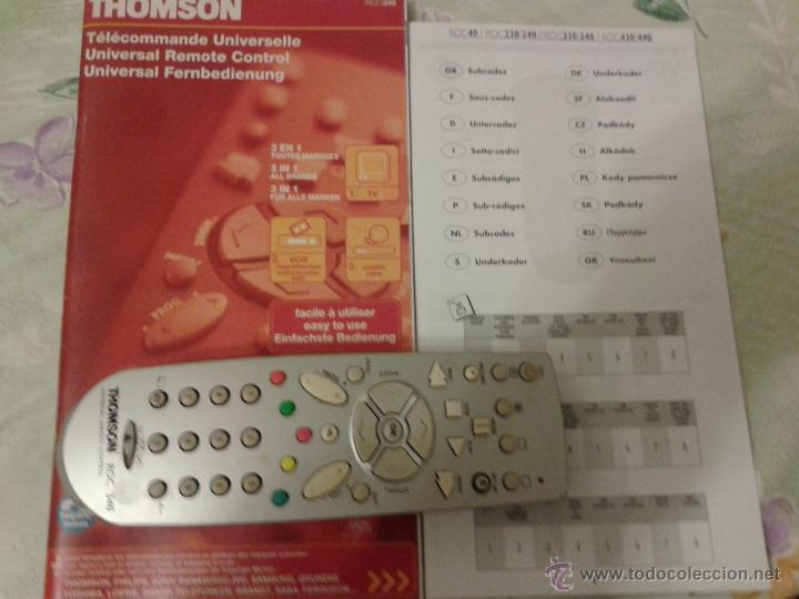 THOMSON MANDO UNIVERSAL ROC340 (Segunda Mano - Artículos de electrónica)
