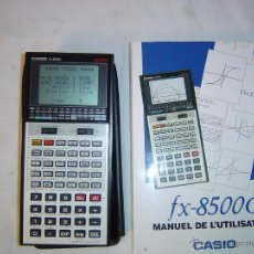 Segunda Mano: CALCULADORA PROGRAMABLE CASIO FX-8500G C. Lote 48703079