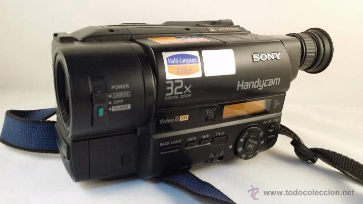 sony handycam video 8 xr