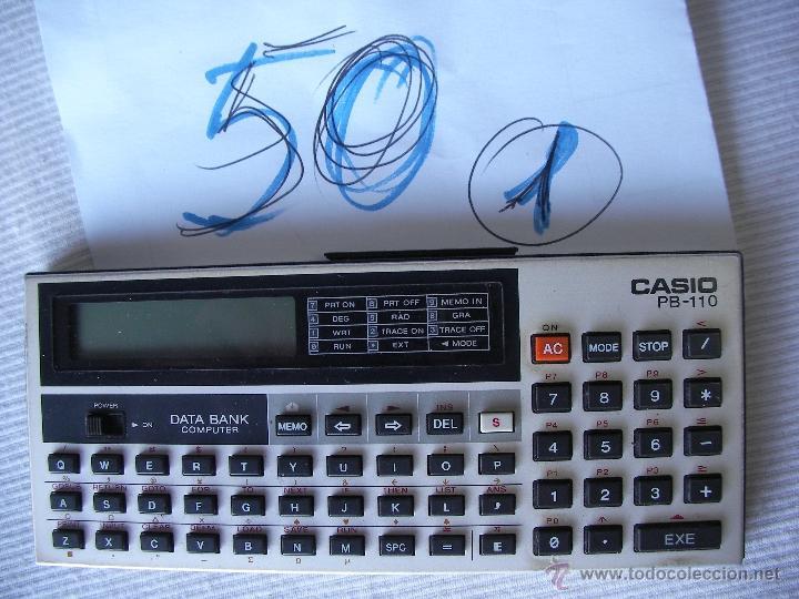 ANTIGUA COMPUTADORA CASIO PB-110 (Segunda Mano - Artículos de electrónica)