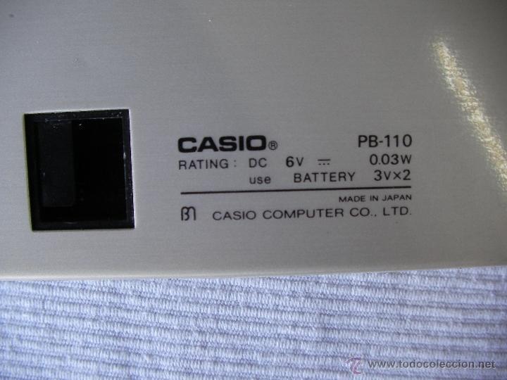 Segunda Mano: ANTIGUA COMPUTADORA CASIO PB-110 - Foto 2 - 49324112