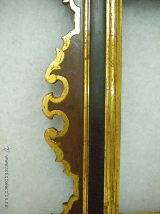 Segunda Mano: Marco ,dorado y estuco.Medida interior 30,8x45,8 exterior 63 x 78 cm. - Foto 9 - 49403626