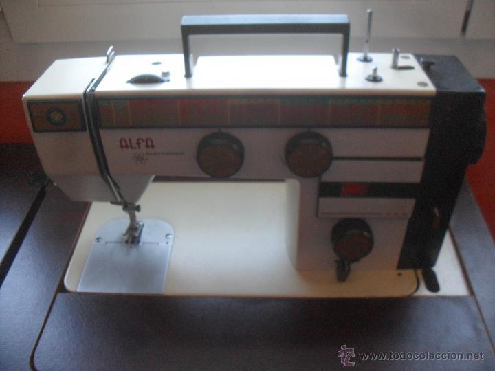 maquina de coser y bordar alfa en perfectas con - Comprar