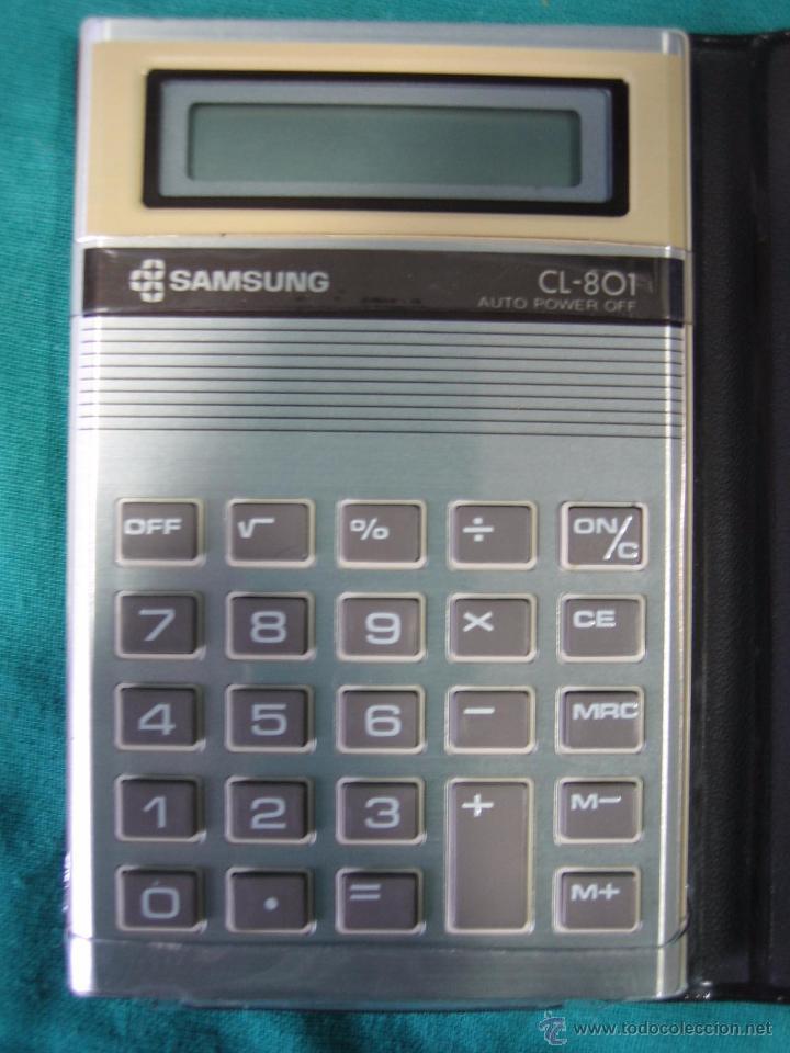 Segunda Mano: Calculadora Sansung CL 801. No funciona - Foto 2 - 49995050
