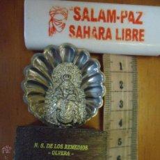 Segunda Mano: VIRGEN METAL DE LOS REMEDIOS OLVERA CADIZ. Lote 50035464