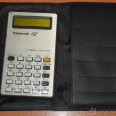 Segunda Mano: ANTIGUA CALCULADORA PANASONIC 8332 FUNDA BANCO SABADELL. Lote 50190208