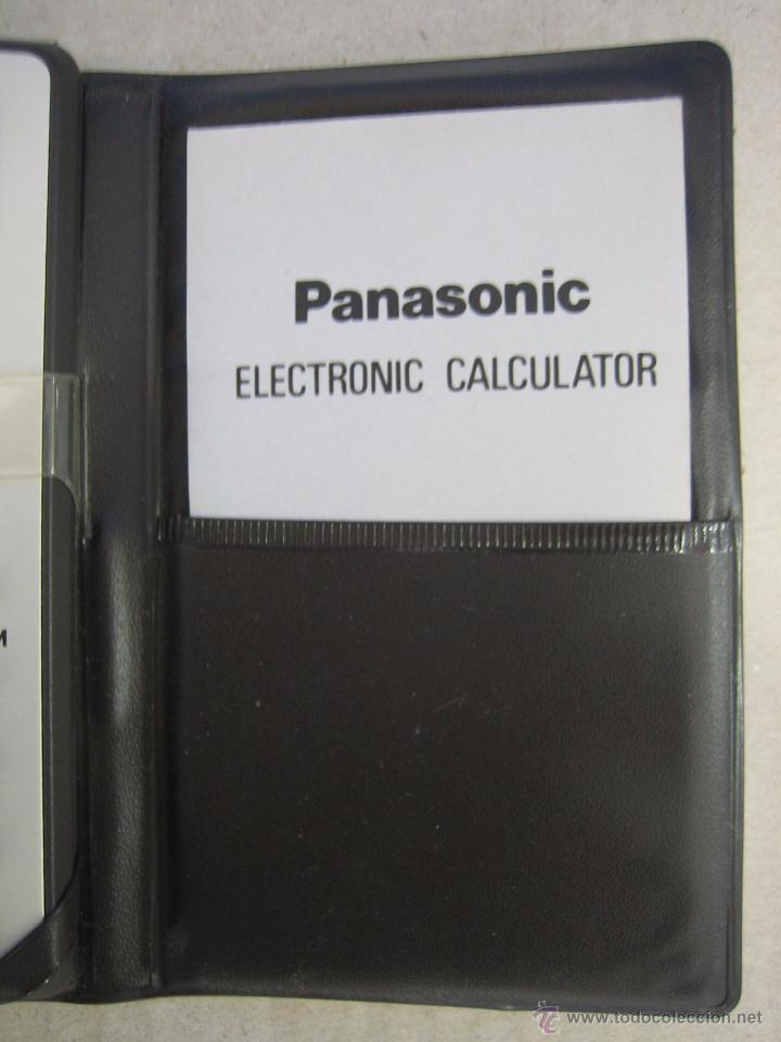 Segunda Mano: Calculadora electrónica Panasonic 8332. Funciona - Foto 3 - 50234921
