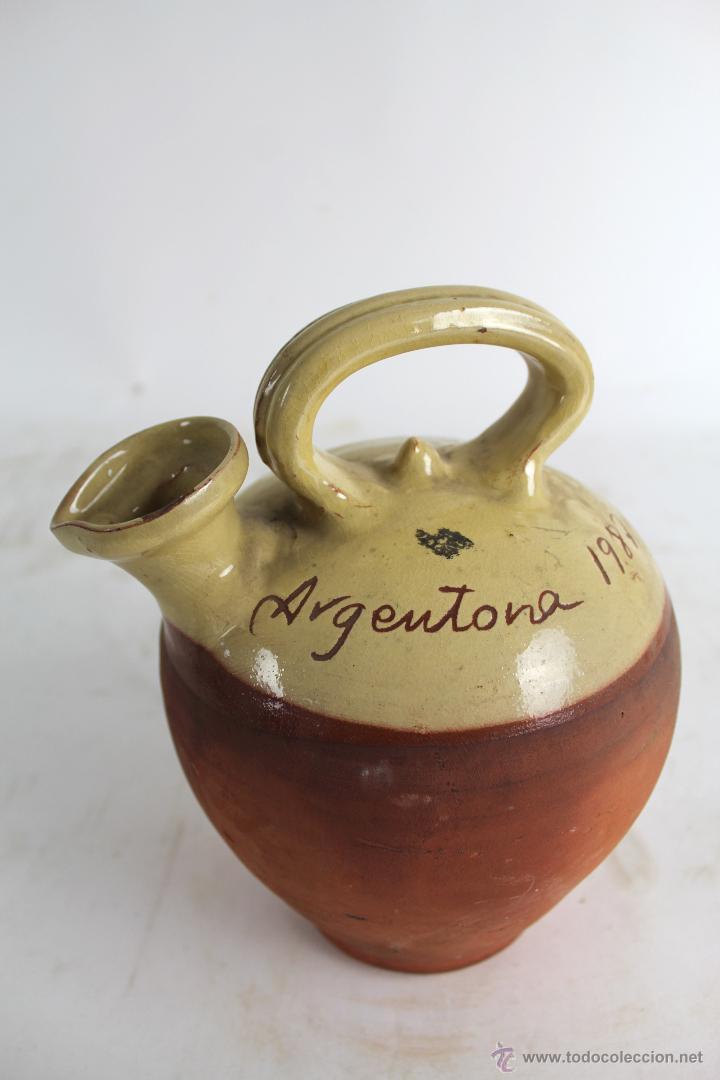 BOTIJO EN CERAMICA DE ARGENTONA AÑO 1987 (Segunda Mano - Hogar y decoración)