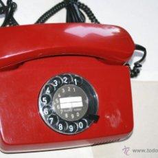Segunda Mano: RETRO VINTAGE TELÉFONO DE DISCO ALEMÁN DE LOS AÑOS 80, LIMPIO Y ADAPTADO, FUNCIONANDO MUY CUIDADO . Lote 50362287