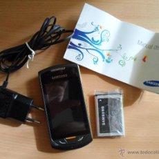Seconda Mano: ºººº TELÉFONO MÓVIL - SAMSUNG GT-S5620 - COLOR NEGRO Y DORADO - COMO NUEVO - LEER DESCRIPCIÓN. Lote 50572341