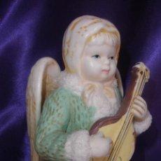 Segunda Mão: ANGEL BISCUIT CON GUITARRA . ANGEL MÚSICO EN BISCUIT. Lote 50622542