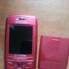 Segunda Mano: ANTIGUO TELEFONO MOVIL SAMSUNG VODAFONE CON BATERIA TAL CUAL LA FOTO. Lote 50770246