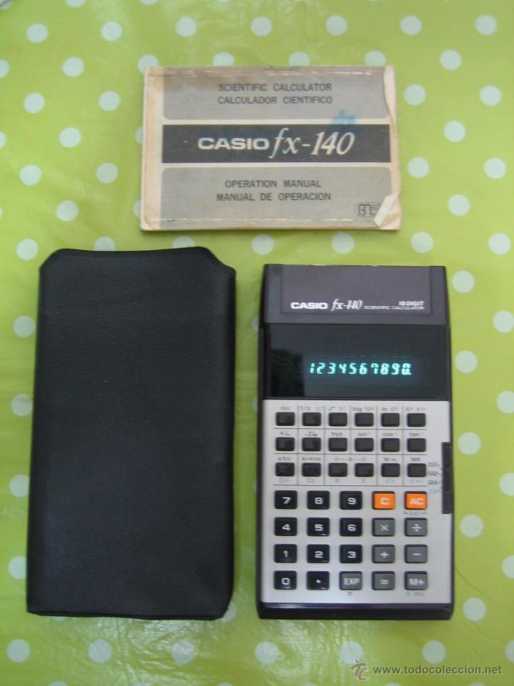 Manual para calculadora graficadora casio fx-7400g retro $ 100.