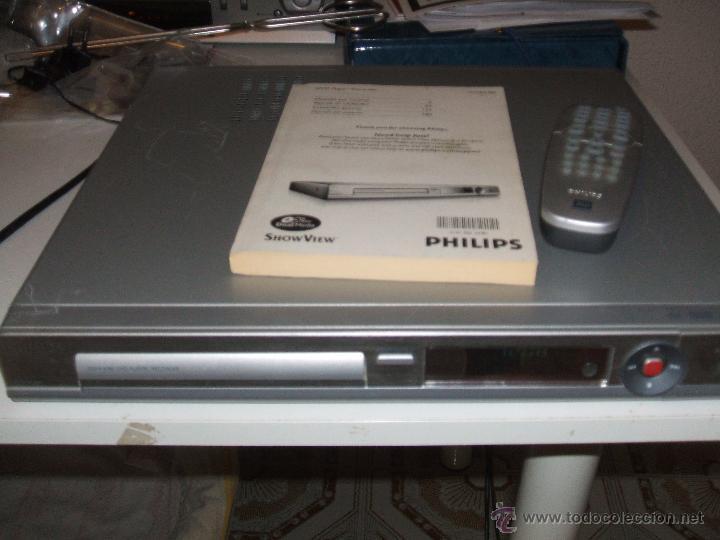 PHILIPS REPRODUCTOR Y GRABADORA DE DVD DVDR3380 (Segunda Mano - Artículos de electrónica)