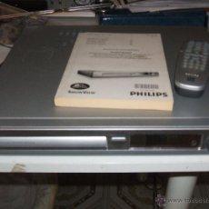 Segunda Mano: PHILIPS REPRODUCTOR Y GRABADORA DE DVD DVDR3380. Lote 51042035