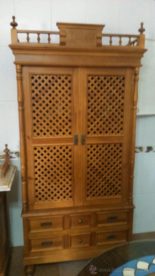Conjunto alacena y mueble auxiliar cocina comprar - Mueble vintage segunda mano ...