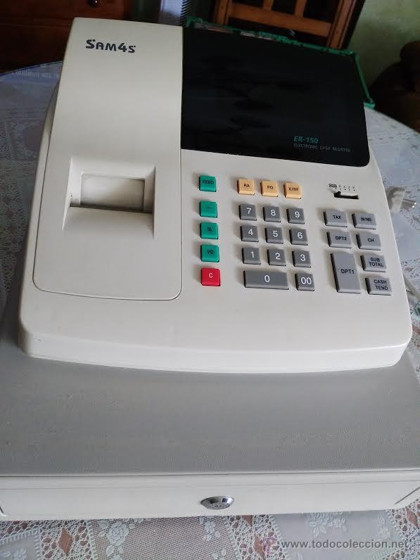 CAJA REGISTRADORA - SAM4S ELECTRONIC CASH REGISTER (Segunda Mano - Artículos de electrónica)