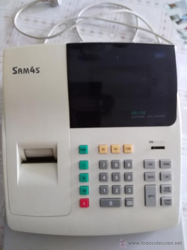 Segunda Mano: CAJA REGISTRADORA - SAM4S ELECTRONIC CASH REGISTER - Foto 3 - 52992139