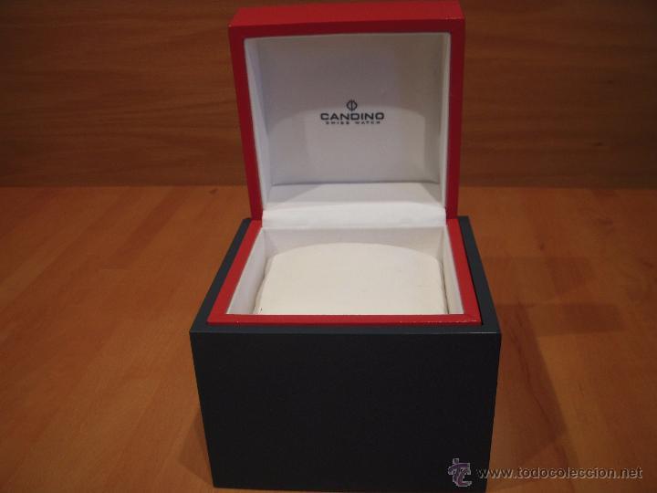 Segunda Mano: caja o estuche para reloj marca candino, no es antigua la caja - Foto 2 - 53321621