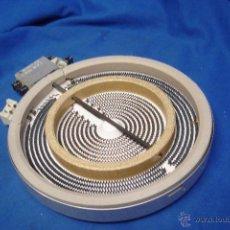 Segunda Mano: RECAMBIO PLACA VITROCERÁMICA DOBLE CIRCUITO 20 CM. 1700/700 WATIOS 230 V.- EGO. Lote 53324988