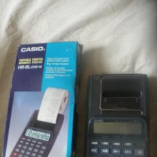 Segunda Mano: CASIO HR-8L GYB-W-PORTABLE PRINTER-CALCULATOR.IMPRESORA CALCULADORA.ARREGLAR.. Lote 53564065
