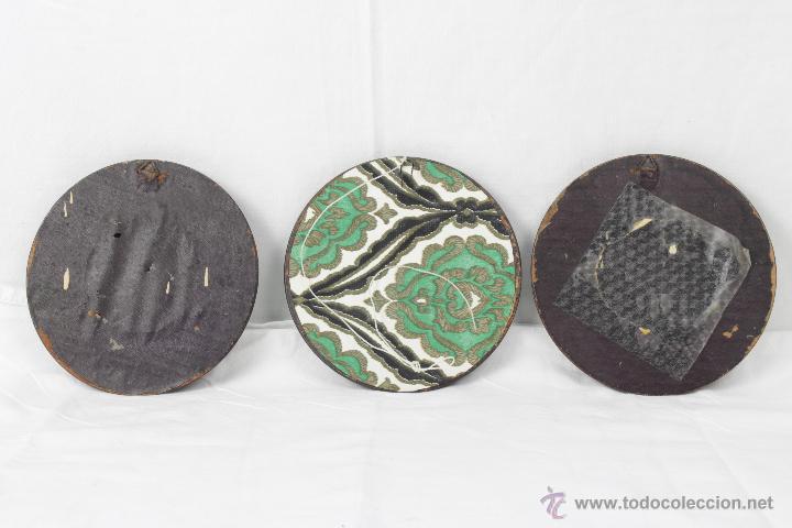 Segunda Mano: tres portarretratos redondos con escenas goyescas - Foto 2 - 53583315
