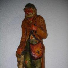 Segunda Mano: ESCULTURA (DE PARED) ANCIANO (MADE IN ENGLAND). COLECCIÓN.. Lote 53588035