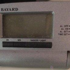 Segunda Mano - Reloj despertador de viaje. Vintage, años 90. Funciona. - 53690129