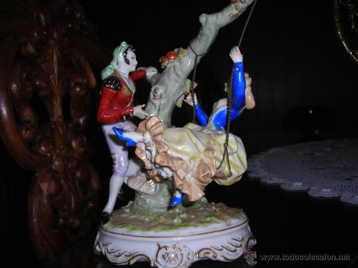 Segunda Mano: Conjunto de porcelana, escena goyesca. - Foto 2 - 53699607