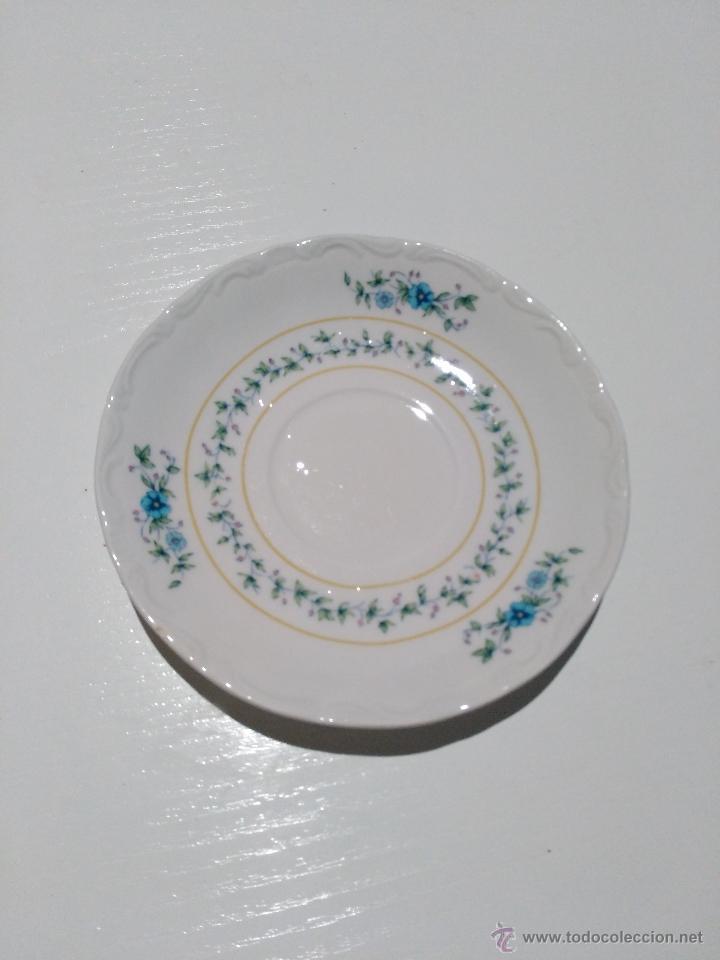 Segunda Mano: 3 platos de café con leche. marca pontesa España total china. garantía de colores inalterables - Foto 3 - 53785010
