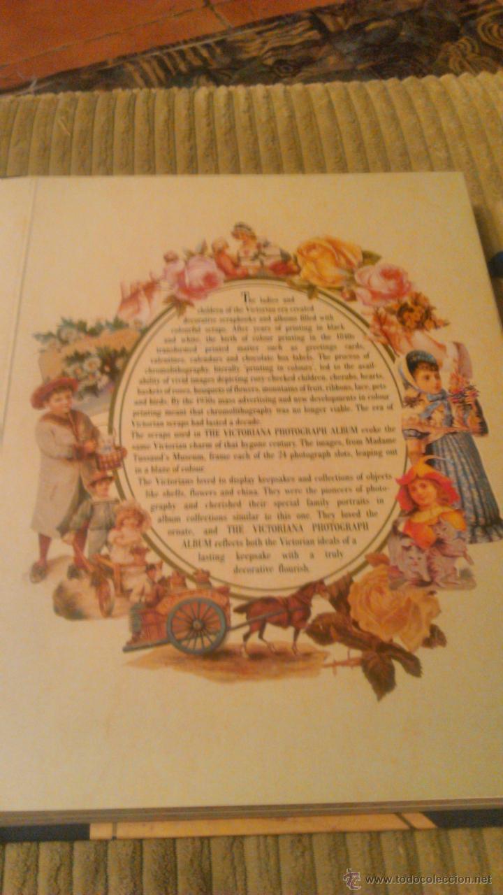 Segunda Mano: Precioso album de fotos estilo victoriano,a victorian photograph album. edición limitada 1995 - Foto 4 - 53790051