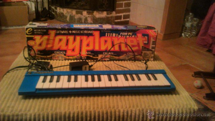Segunda Mano: teclado musical play planet pour pc.music match - Foto 1 - 53790815