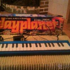 Segunda Mano: TECLADO MUSICAL PLAY PLANET POUR PC.MUSIC MATCH. Lote 53790815
