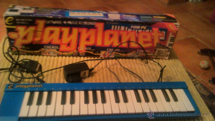 Segunda Mano: teclado musical play planet pour pc.music match - Foto 2 - 53790815