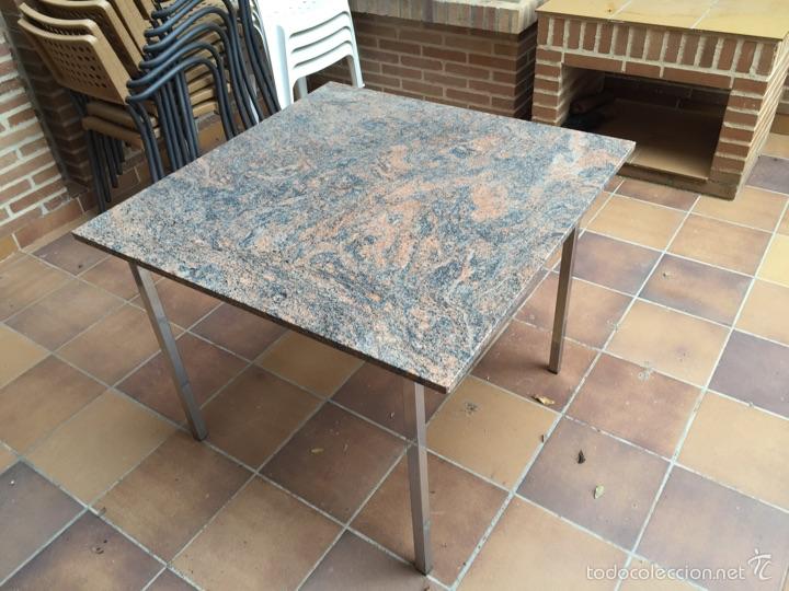 mesa granito y aluminio comprar art culos de segunda