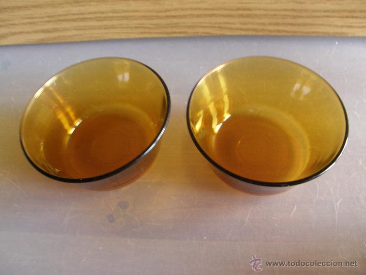Segunda Mano: Dos cuencos de DURALEX ambar. - Foto 2 - 54452023