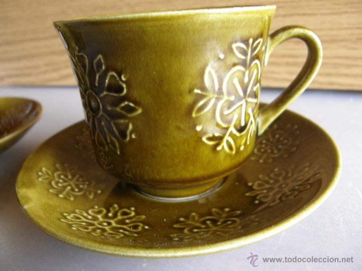 Segunda Mano: Dos tazas modelo Escocia de PONTESA con sus platos. - Foto 2 - 54453334