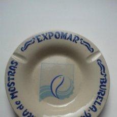 Segunda Mano: CENICERO CONMEMORATIVO DE BURELARTE. V FEIRA DE MOSTRAS EXPOMAR. BURELA. AÑO 1994.. Lote 54576577