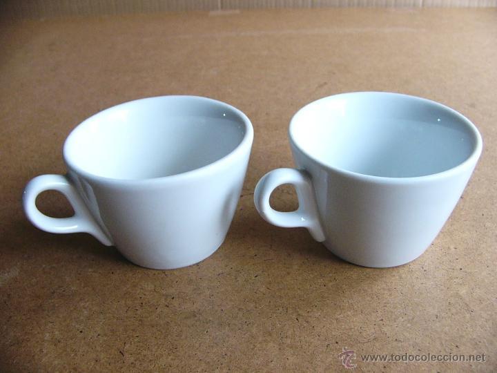 Lote 2 tazas de los a os 60 70 muy gruesas ta comprar for Capacidad taza cafe con leche