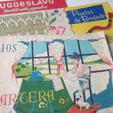Segunda Mão: 3, ALBUMES DE LABORES.-BORDADO YUGOSLAVO,BORDADOS VARIOS Y DIBUJOS LAGARTERA-1960. Lote 54606633